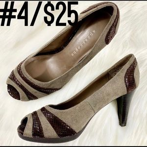 APOSTROPHE Pumps Heels Two Toned Sz 6